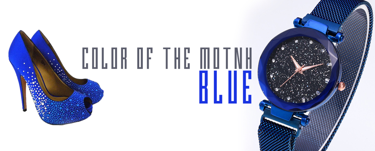 Color of the month Blue