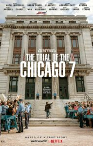 An actors showcase enlivened by its topical fact-based story, trial of the Chicago 7 plays squarely and compellingly to Aaron Sorkin's strengths. It's definitely worth a watching.
