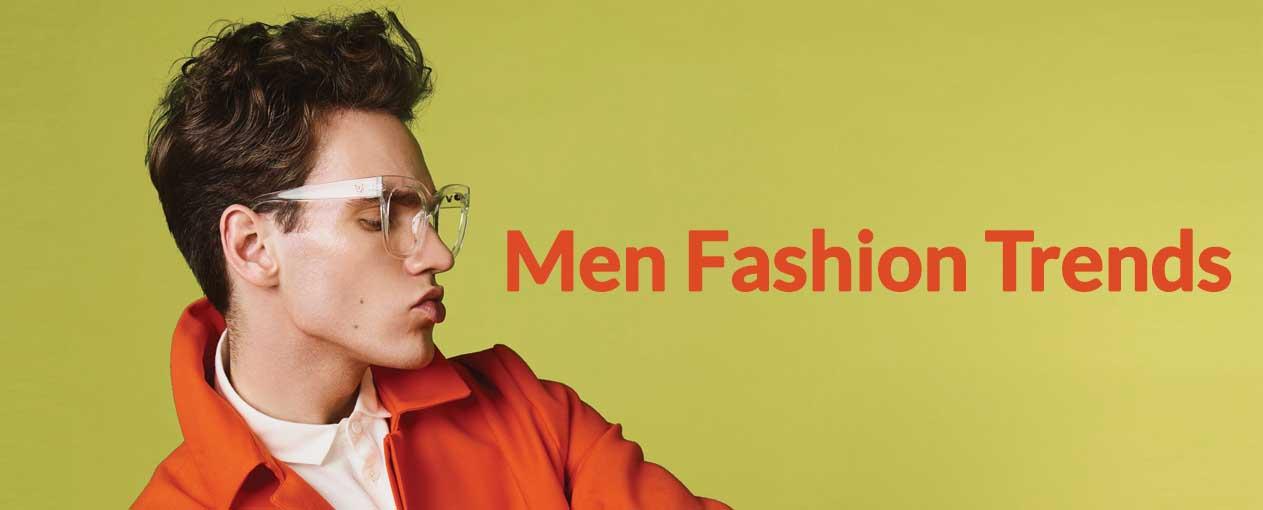 Banner Men Fashion Trends