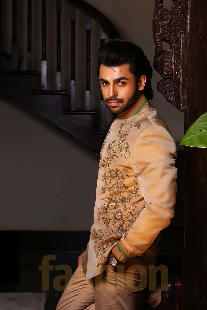 Fashion_Collection_Iman Aly and Farhan Saeed For Tich Button Farhan 2Solo