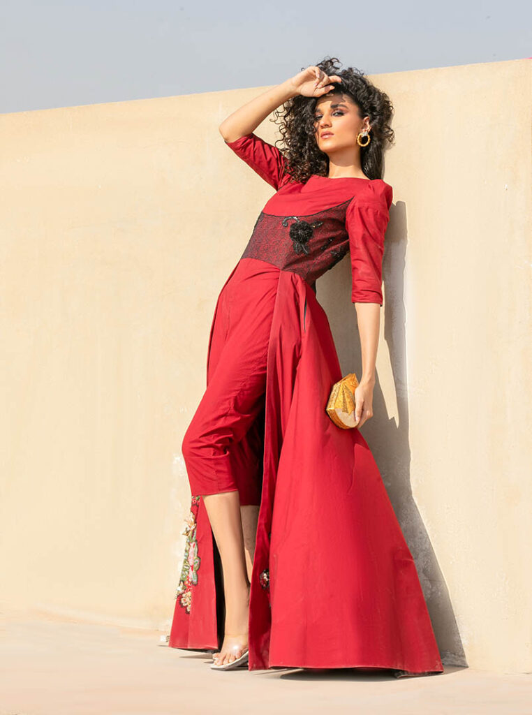 Shoot of Rehma Zaman for Fashion_Collection_Glam_Up (3)