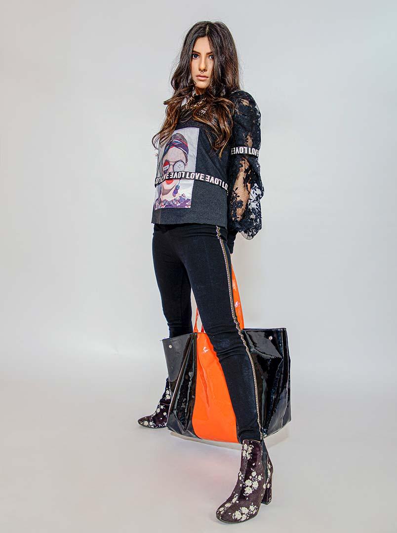 Amna Kifayat Khan exclusive shoot for fashion collection pakistan