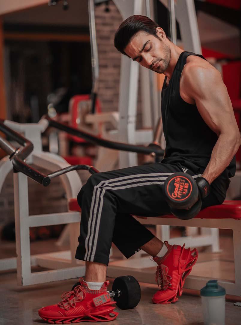 1-Break a sweat with Danial Afzal Khan