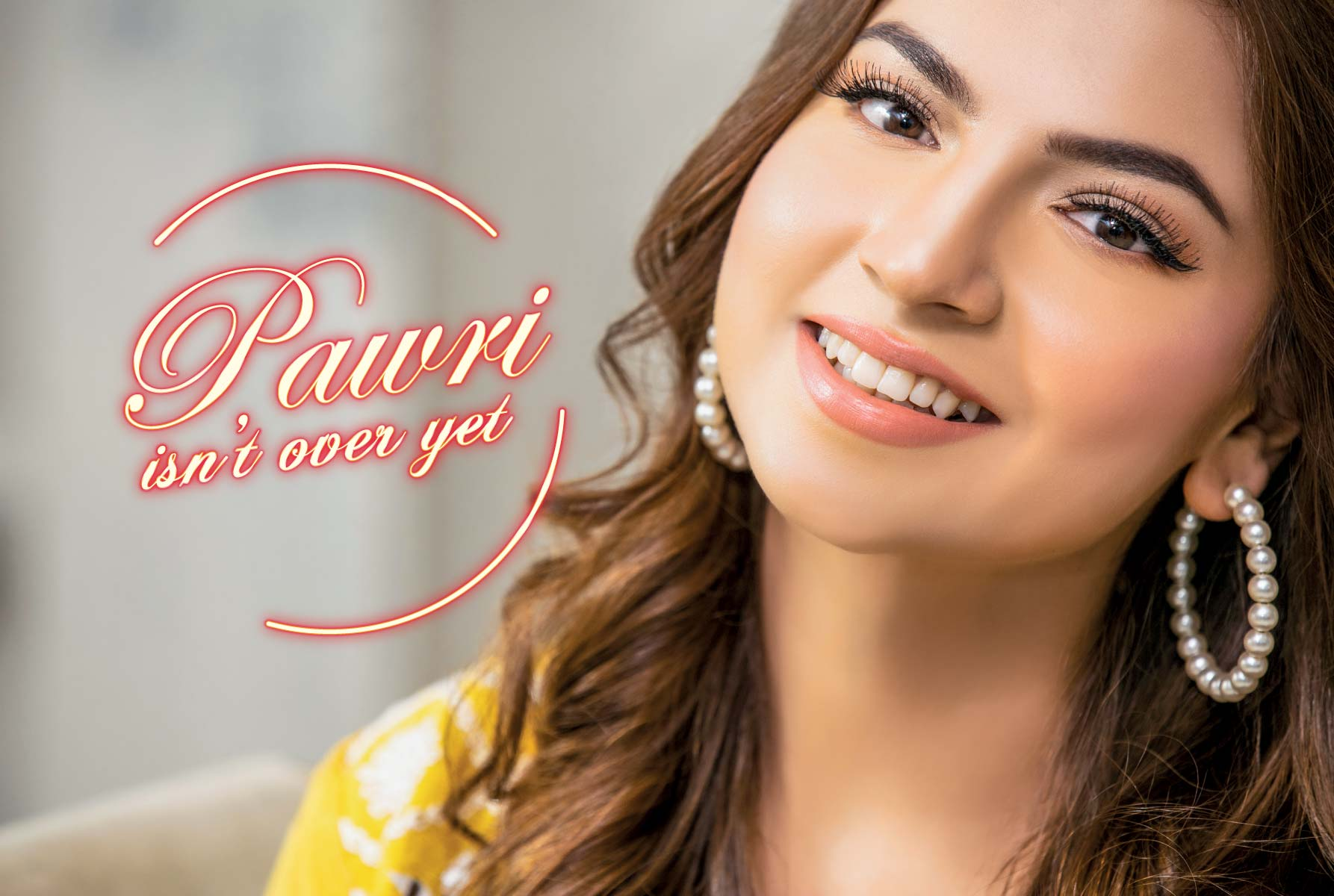 pawri ho rahi hai girl Dananeer exclusive photo shoot