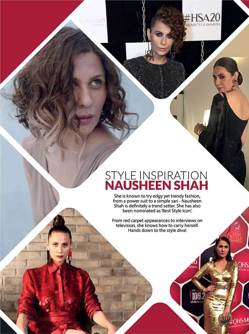 trendy fashion Setter Nausheen Shah pics