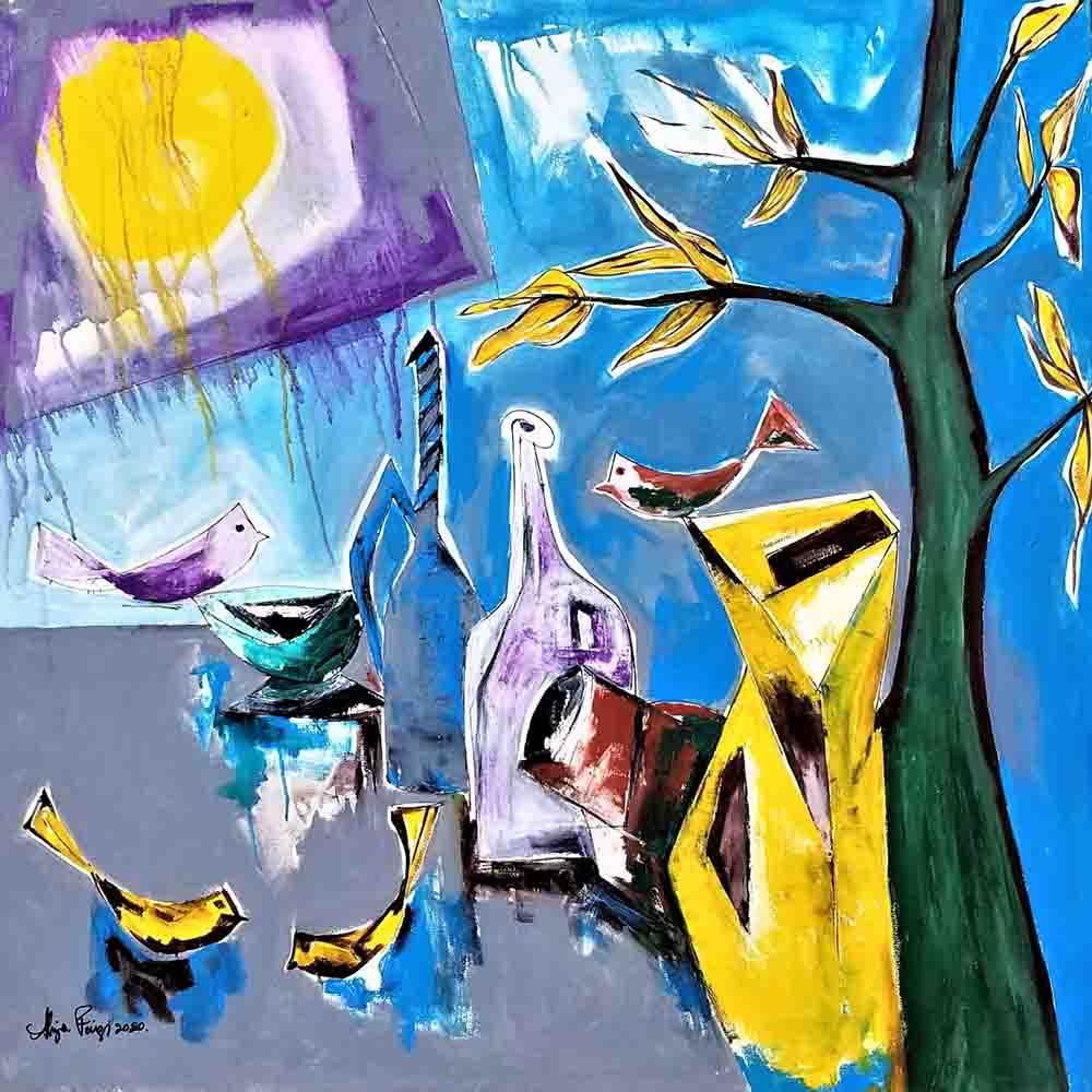 Artwork of ALiya Faizi
