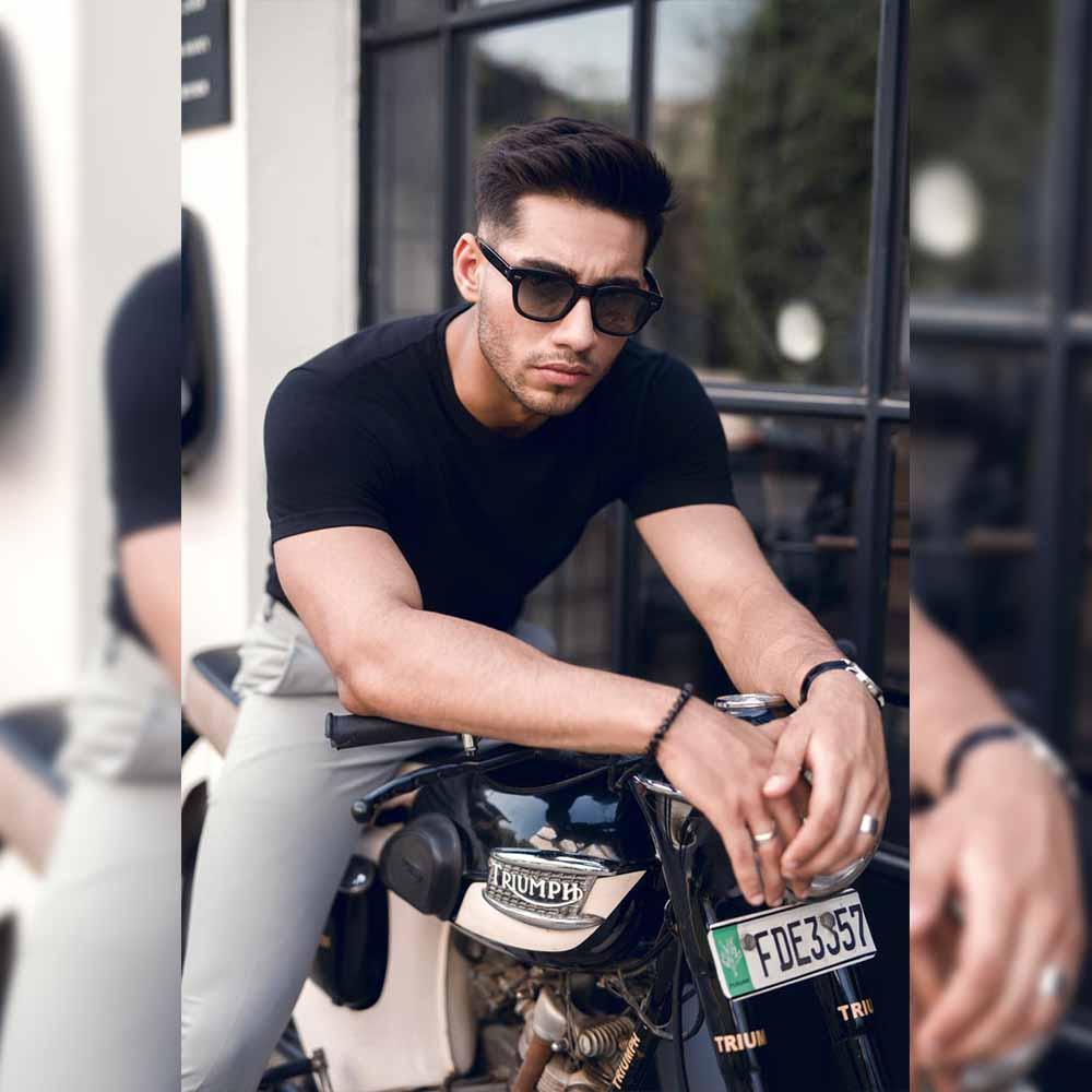 Rising talent Ali Raza