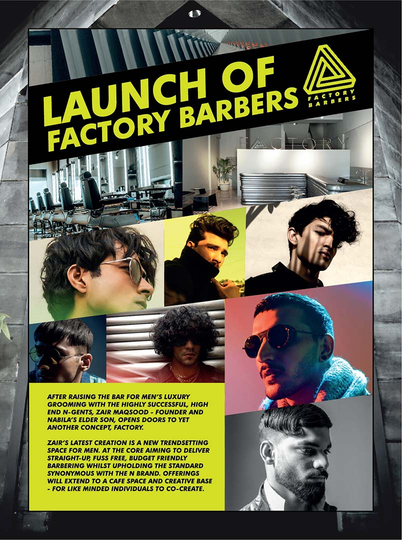 1-Launch of Factory Barbers