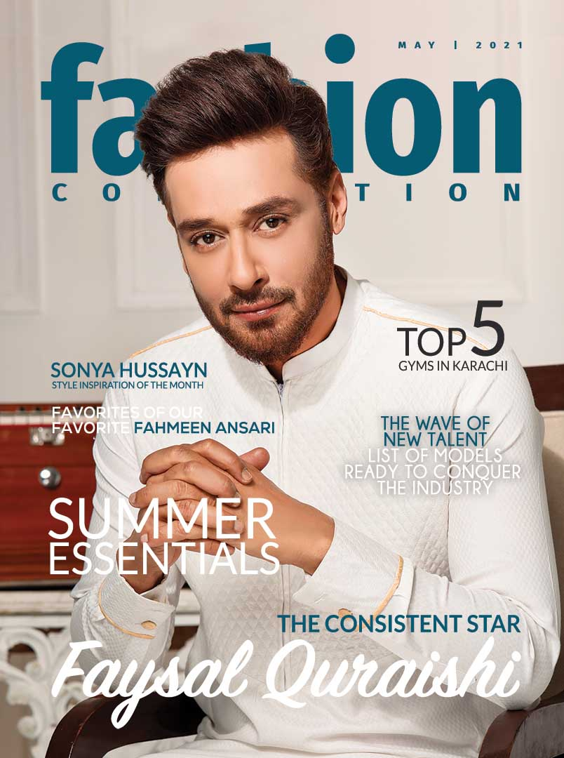 May emagazine Cover of faysal Quraishi