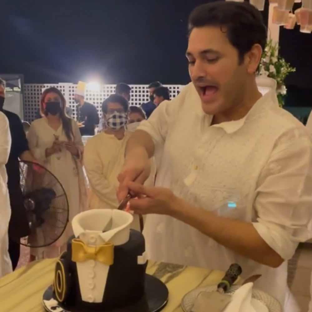 Fahad Mirza hosted his 40th Birthday