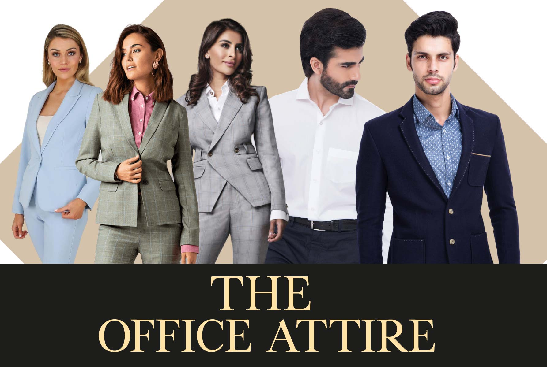 The Perfect Office Attire for Men & Women