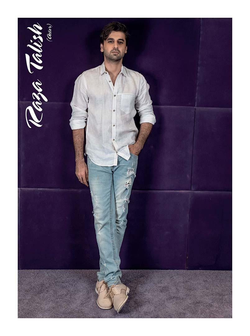 Raza Talish - Actor