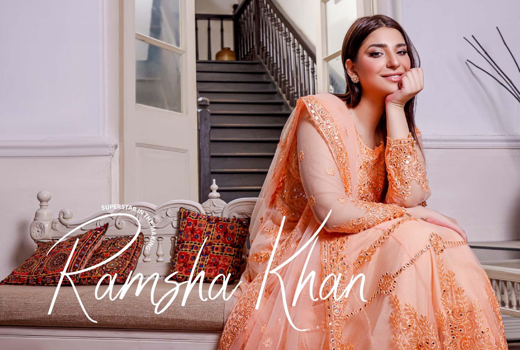 Pakistani Actress Ramsha Khan