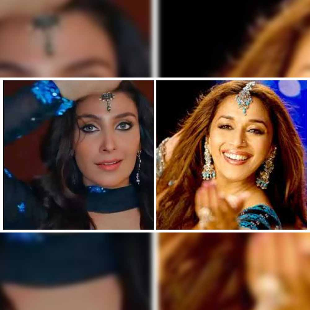 Ayeza Khan recreates Madhuri's iconic look
