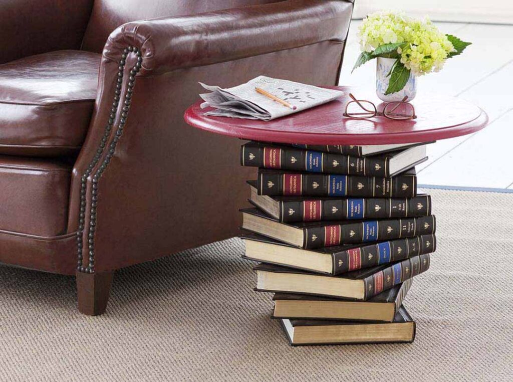 Book Side Table