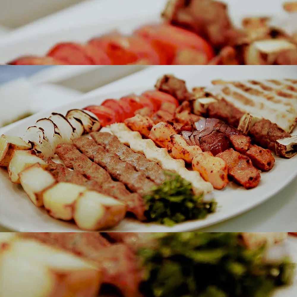 Kabab JI food