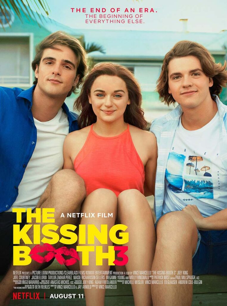 """Netflix Movie """"The kissing Booth 3"""""""