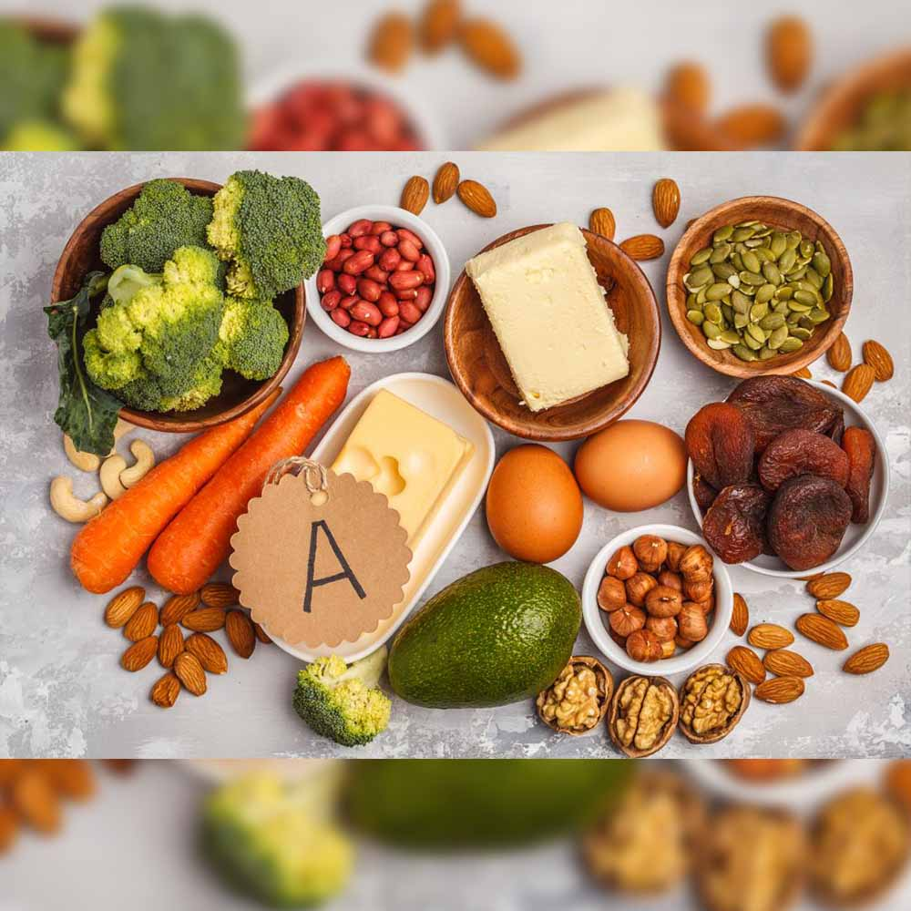 Vitamin A supports your body's intestines and respiratory system