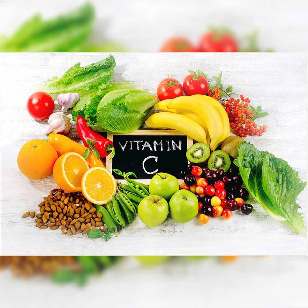 Vitamin C as they help develop antibodies