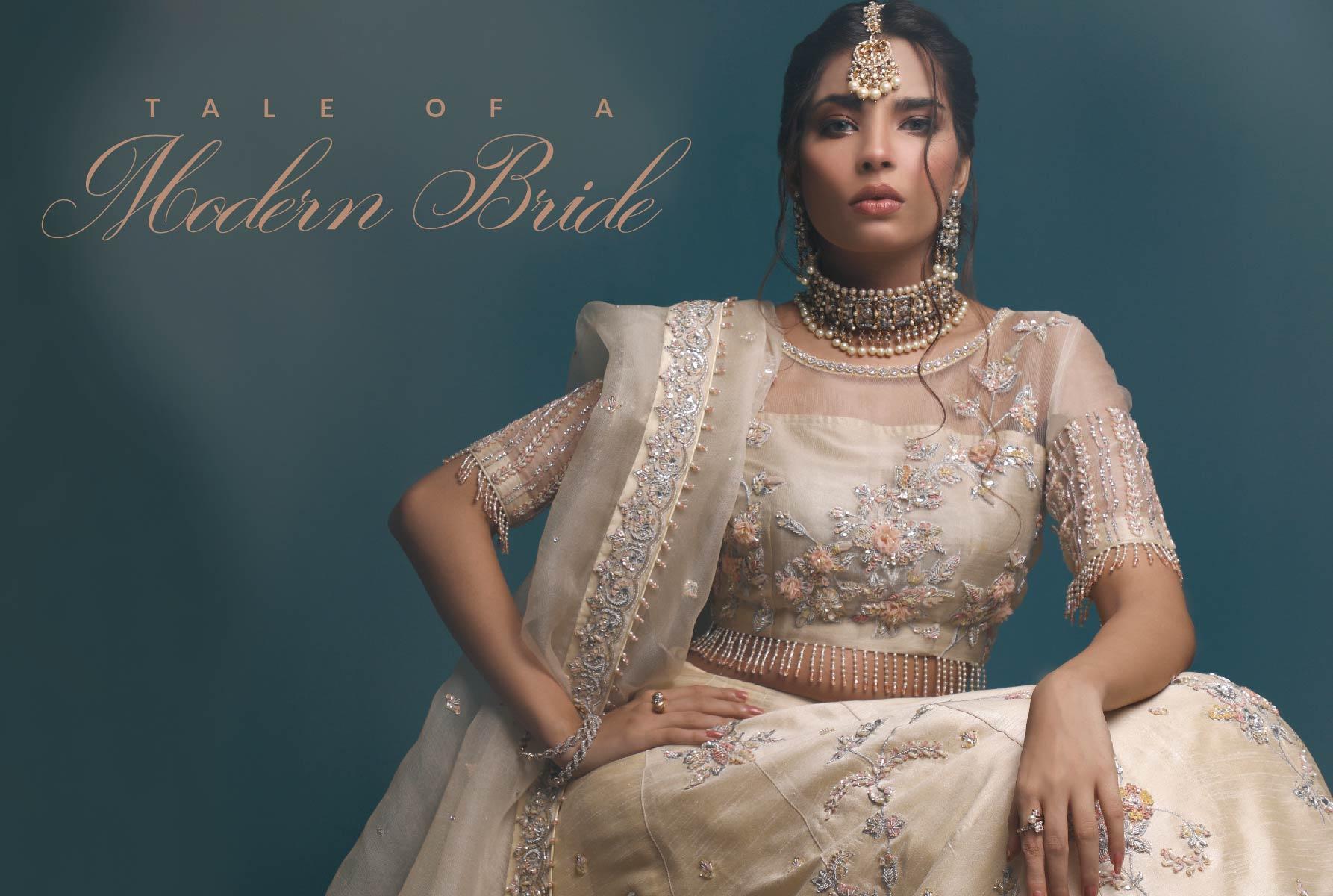 Modern Bride Sawaira Sheikh