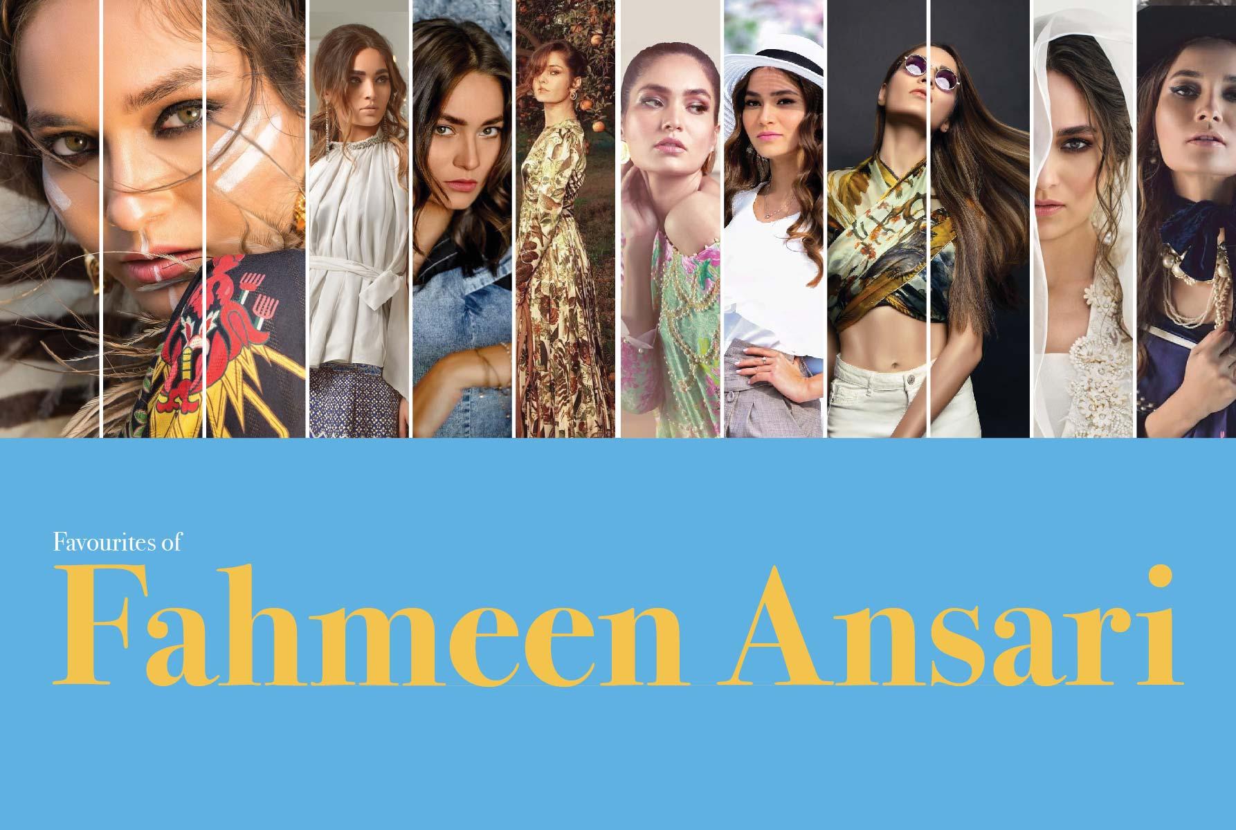 Favorites of Fahmeen Ansari