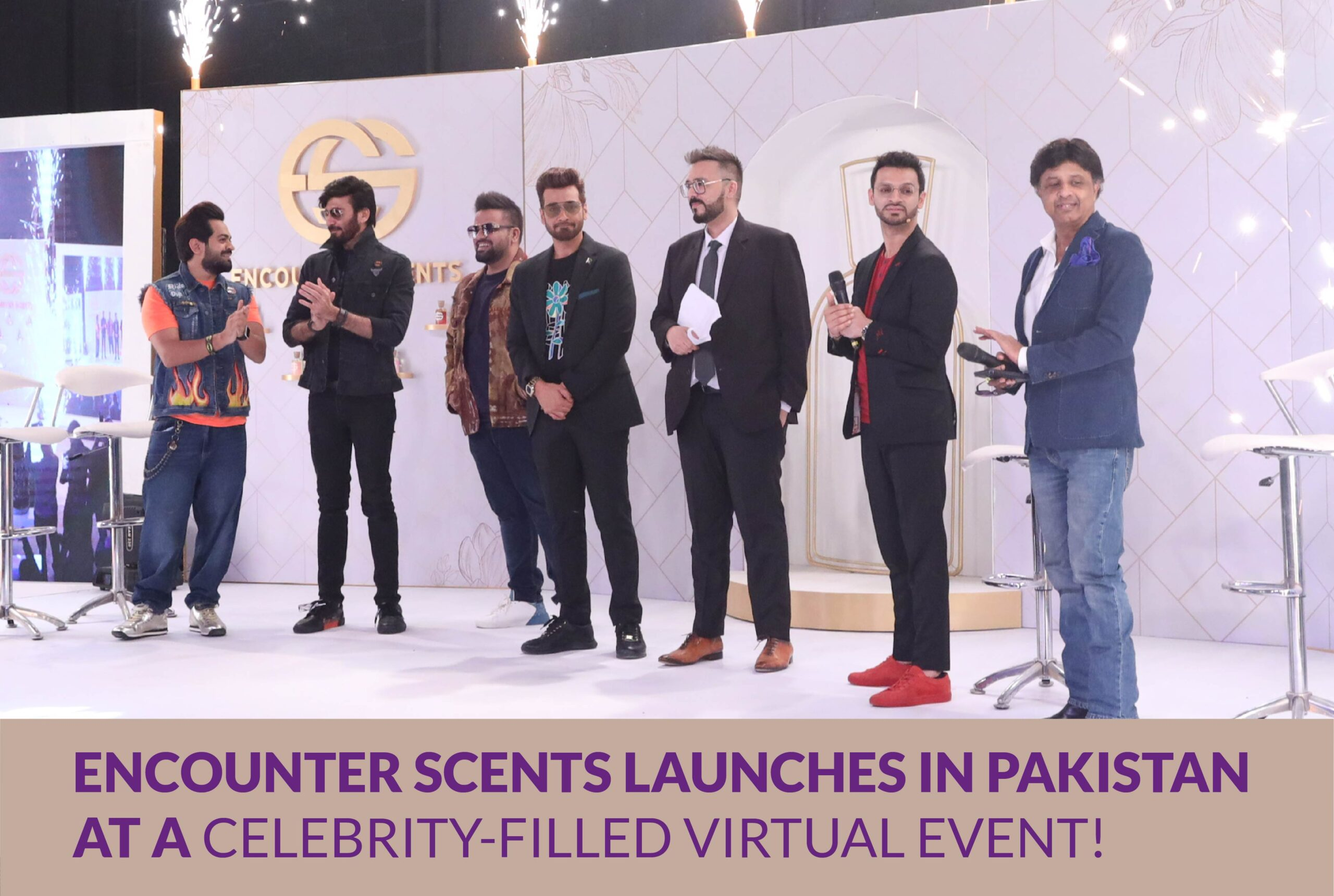 ENCOUNTER SCENTS LAUNCHES IN PAKISTAN