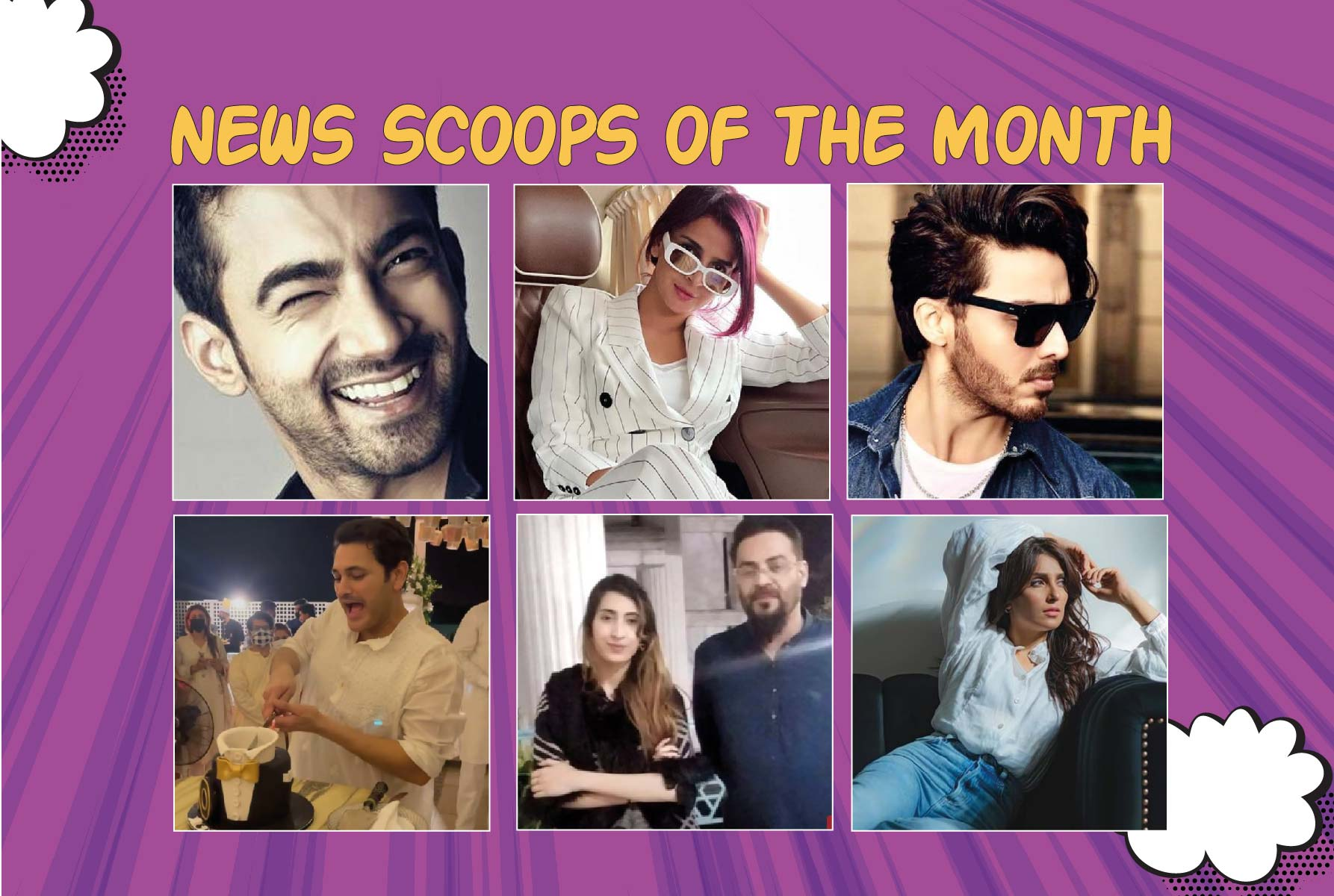 Top Stories of the Celebrities with News Scoop of the month