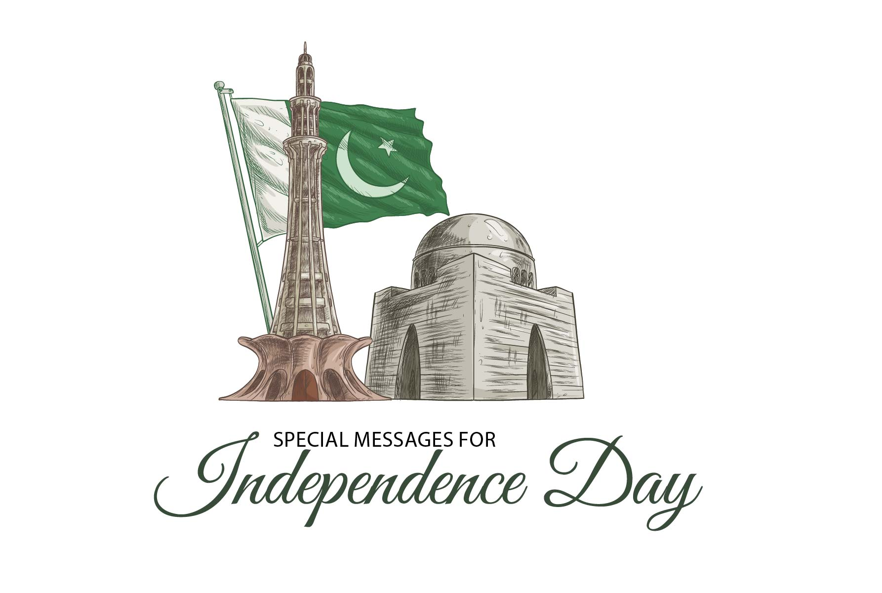 14th Aug. Independence day messages