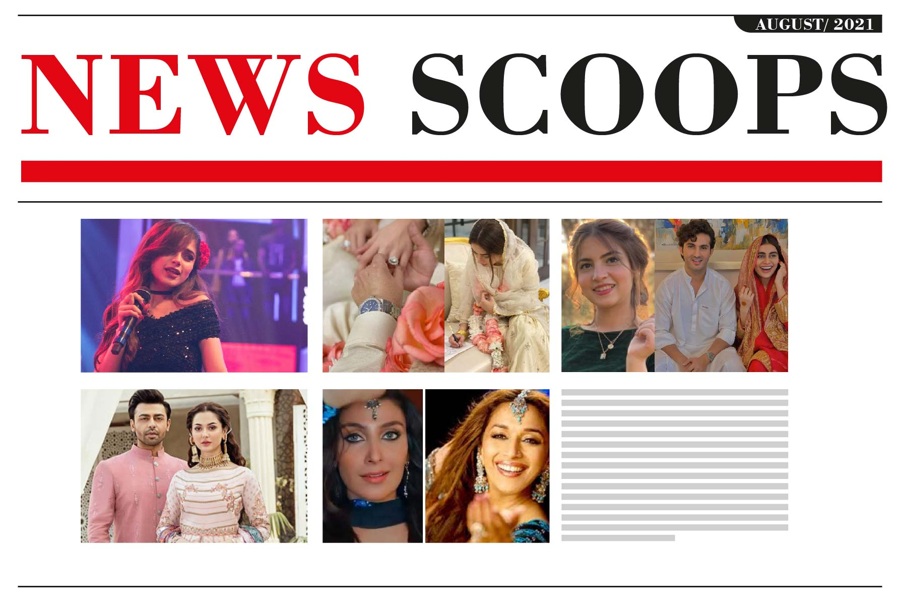 News Scoops of August-2021