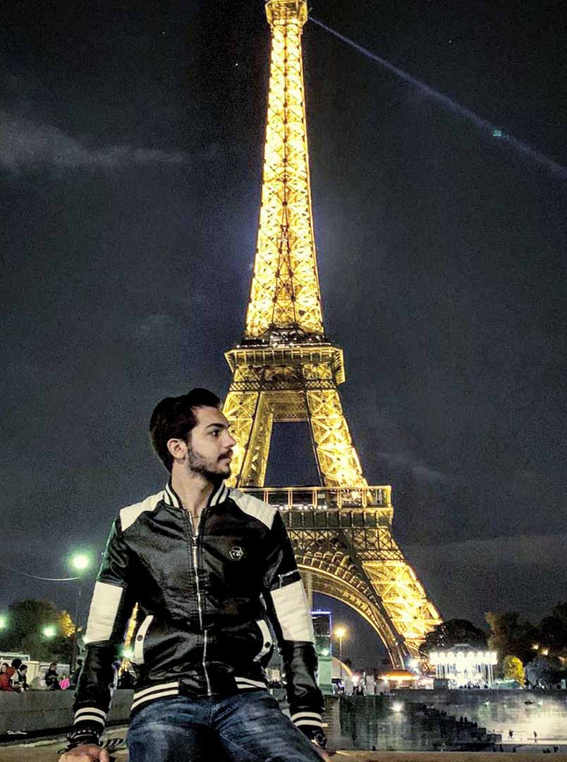 Ali Rehan Paris Tour