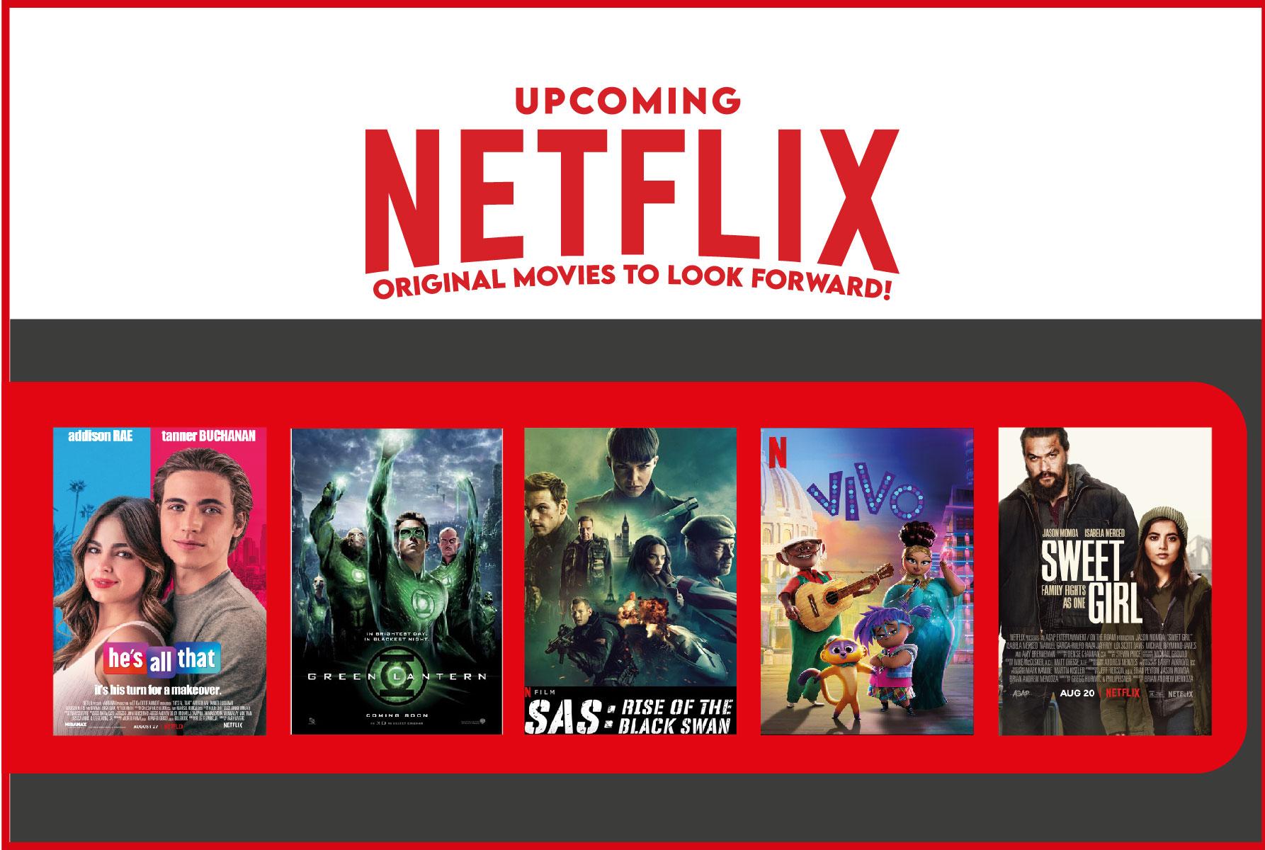 Upcoming Netflix Original Movies to Look Forward!