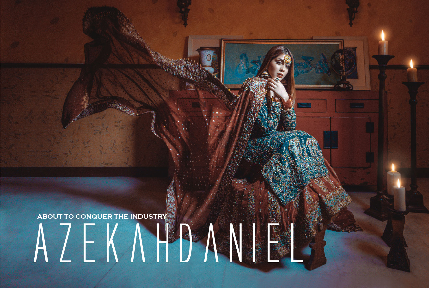 Azekah Daniel - about to conquer the industry