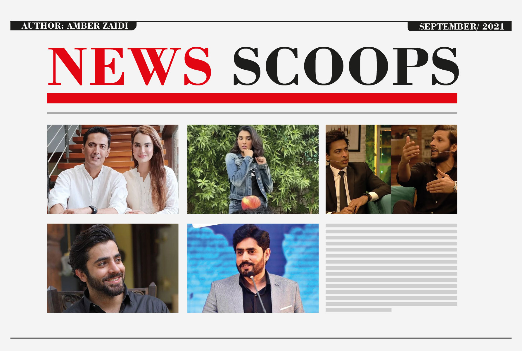 News Scoops For The Month Of September-21